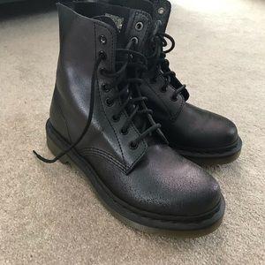 Dr Martens Pascal Black Iridescent Boot